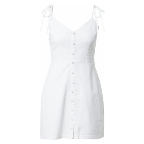 Abercrombie & Fitch Letné šaty  biela
