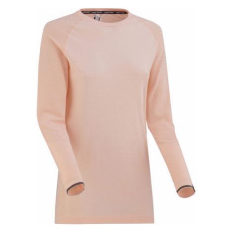 KARI TRAA EVA LS svetlo ružová - Dámske športové tričko