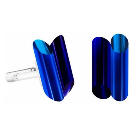 Preciosa Oceľové manžetové gombíky s kryštálmi Neon Collection by Veronica 70