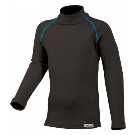 Merino triko Lasting SONY 95P čierne vlnené