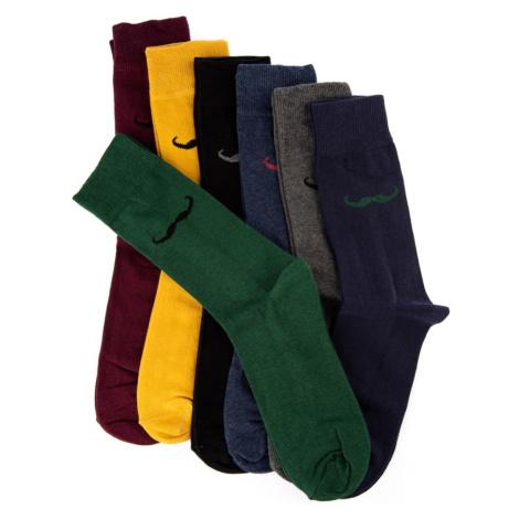 Trendyol Multi-Coloured Men's 7 Pack New Socks