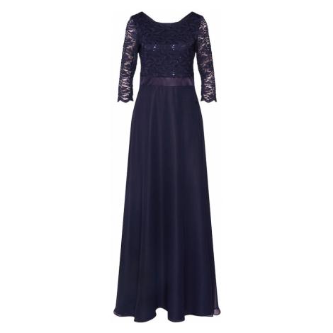 Vera Mont Večerné šaty  tmavomodrá