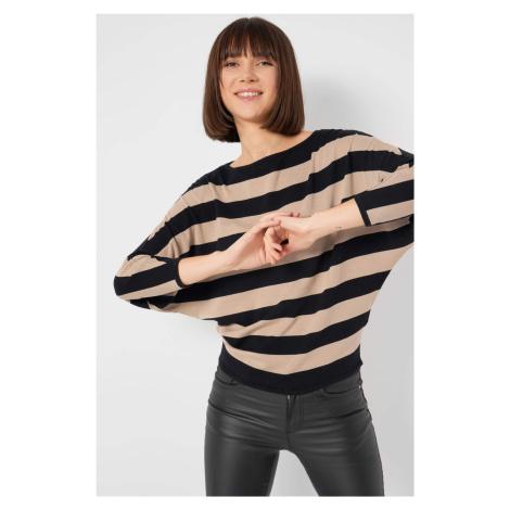 Pruhovaný sveter netopier Orsay