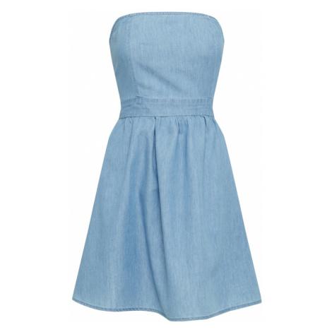 Šaty bez ramienok Urban Classics
