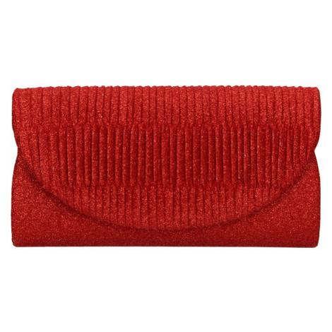 Dámska listová kabelka Michelle Moon Rosana - červená