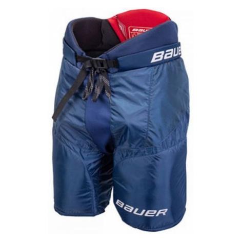 Bauer NSX PANTS SR modrá - Seniorské hokejové nohavice