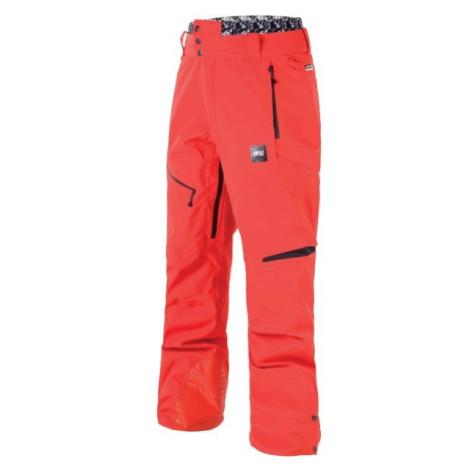 Picture TRACK červená - Pánske zimné nohavice