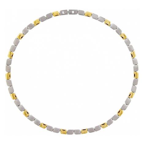 Boccia Titanium Luxusné titanový bicolor náhrdelník 08003-02