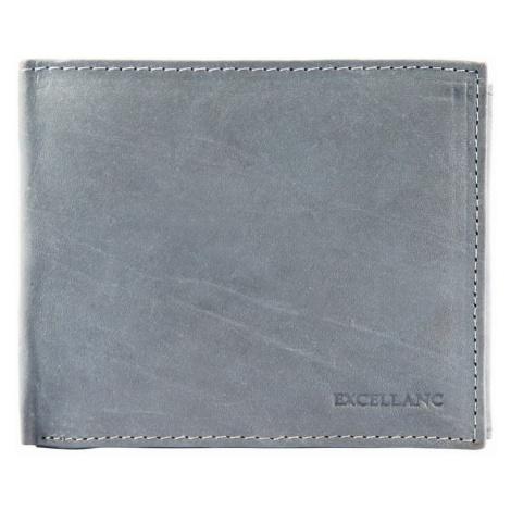 Pánska peňaženka z pravej kože - sivá