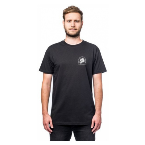 Horsefeathers MOUNTAINHEAD T-SHIRT čierna - Pánske tričko