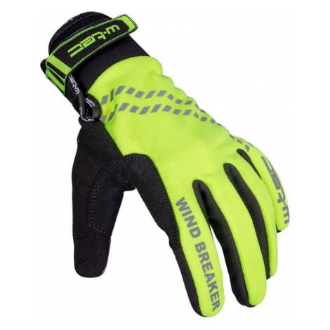 Zimné cyklo a bežecké rukavice W-TEC Trulant B-6013 Farba žltá