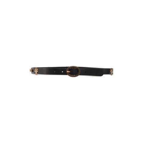 Pinko Dámsky opasok Frinire Cintura AI 20-21 PLT01 1H20T0 Y6GT Čierna
