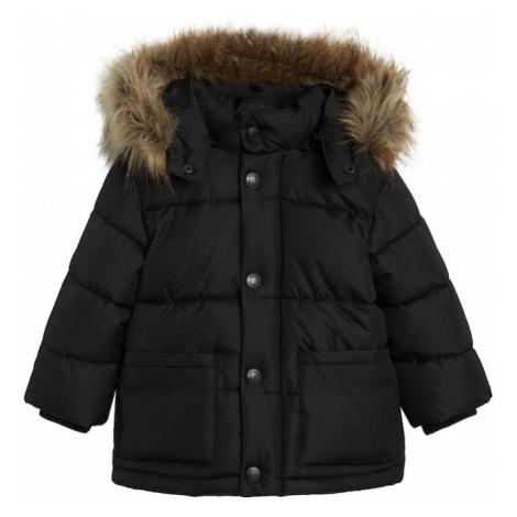 MANGO KIDS Zimná bunda 'Luca'  čierna
