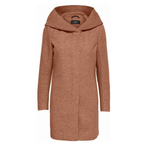 VERO MODA Prechodný kabát 'Verodona'  hnedá melírovaná