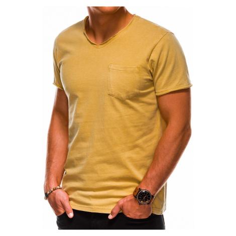 Pánske tričko Shaggy žlté