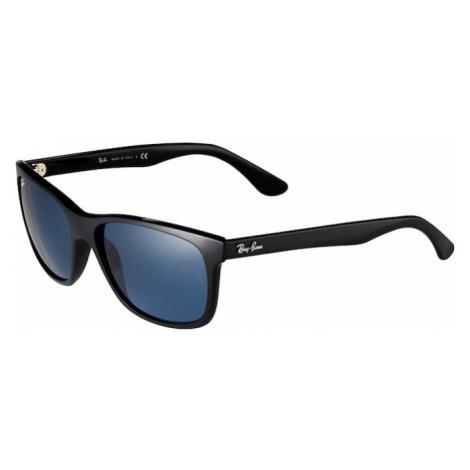 Ray-Ban Slnečné okuliare 'RB4181'  čierna / modrá