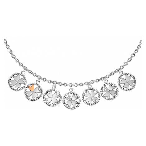 Morellato Oceľový náhrdelník s príveskami MultiGips SAQG25