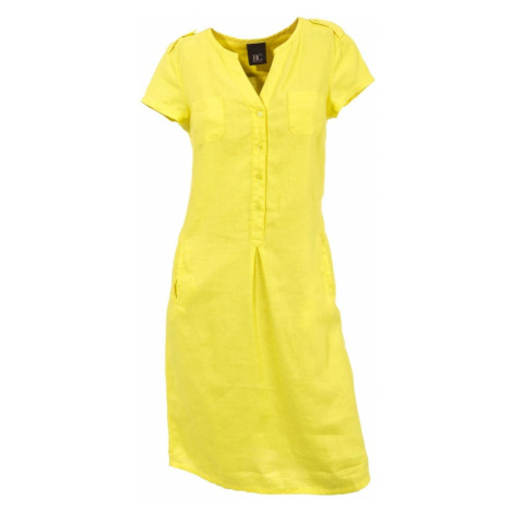 heine Košeľové šaty  žltá