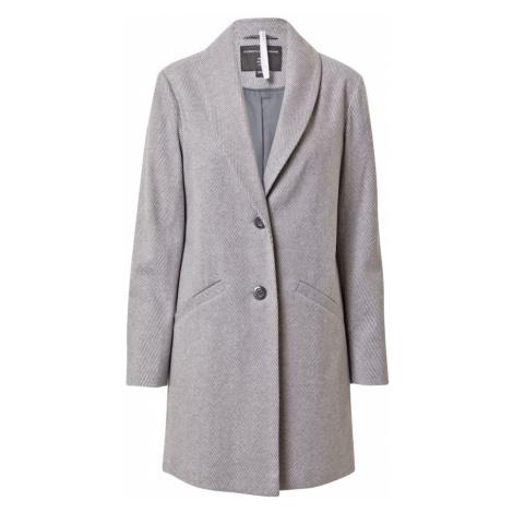 Dorothy Perkins Prechodný kabát  svetlosivá / biela