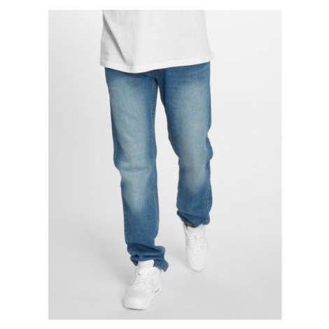 Rocawear / Straight Fit Jeans Moletro Leather Patch in blue - Veľkosť:W 30