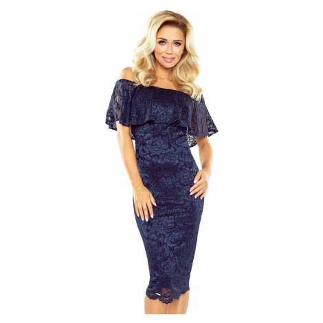 Šaty dámské MORIMIA 013 4 navy blue