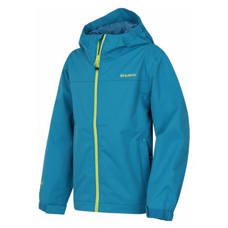 Husky Zunat Kids modrá, Detská outdoorová bunda