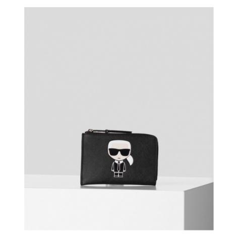 Púzdro Na Platobné Karty Karl Lagerfeld K/Ikonik Zip Card Holder