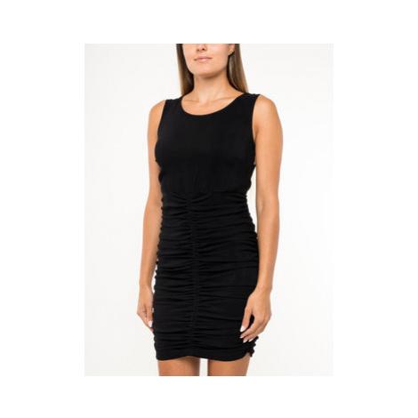 Patrizia Pepe Koktejlové šaty 2A1939/A3MO-K103 Čierna Slim Fit