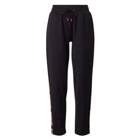 GUESS Športové nohavice  čierna