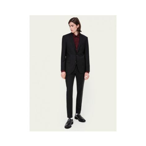 Hugo Oblek Henry/Griffin182 50383613 Čierna Slim Fit Hugo Boss