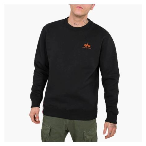 Alpha Industries Basic Sweater Small Logo Neon Print 188307NP 477