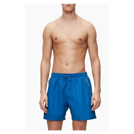 Calvin Klein modré pánske plavky Medium Drawstring