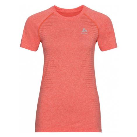 Odlo WOMEN'S T-SHIRT CREW NECK S/S SEAMLESS ELEMENT oranžová - Dámske tričko