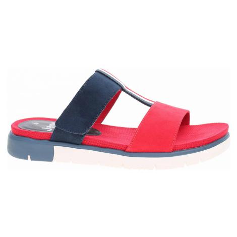 Dámské pantofle Jana 8-27100-24 red comb 8-8-27100-24 555