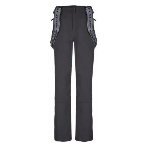 Loap LEMAR tmavo sivá - Pánske zimné softshellové nohavice