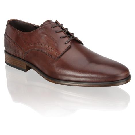 Pat Calvin šnurovacia obuv hnedá