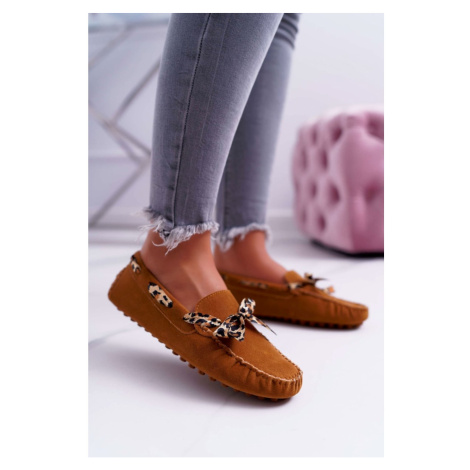 Women's Loafers Lu Boo Eco-suede Camel Plummy
