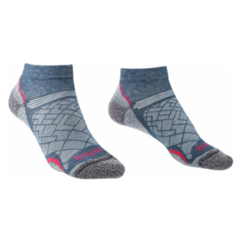 Ponožky Bridgedale Hike Ultralight T2 Coolmax Performance Low Women's dark denim/136