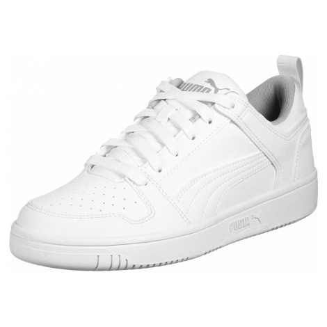 PUMA Športová obuv 'Rebound Layup'  biela / sivá