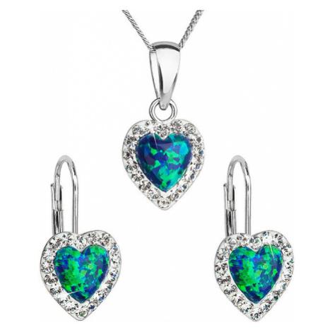 Zelené dámske šperkové sety