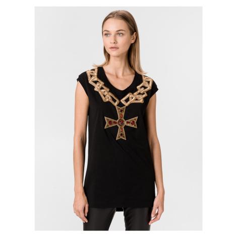 Triko Dolce & Gabbana Čierna