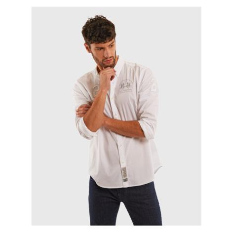 Košeľa La Martina Man Light Twill L/S Shirt Ligh