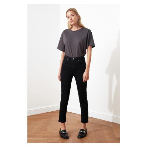 Trendyol Black High Waist Slim Fit Jeans