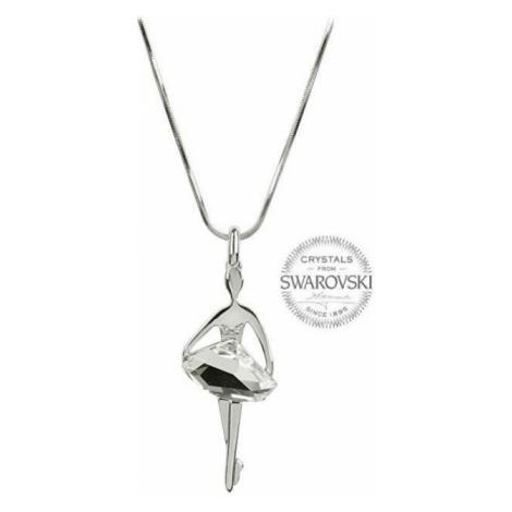 Levien Originálny náhrdelník Baletka Crystal