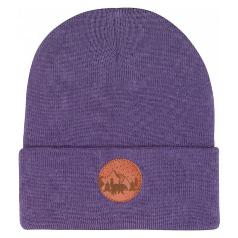 Kabak Unisex's Hat Beanie Cotton Violet-4937