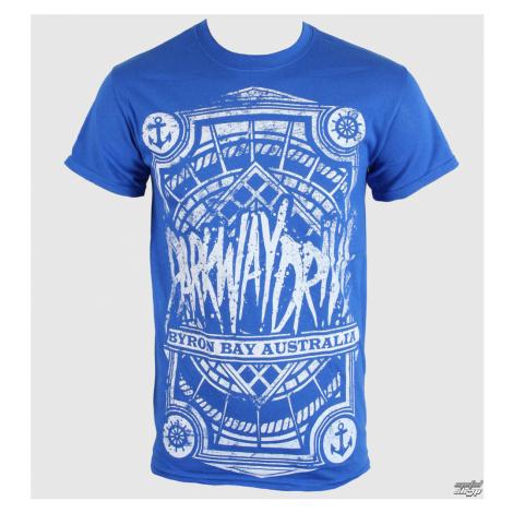 Tričko metal KINGS ROAD Parkway Drive Byron Bay Royal Čierna modrá