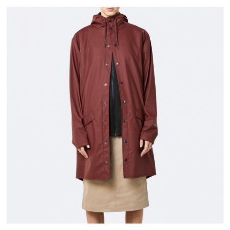 Rains Long Jacket 1202 MAROON