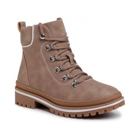 Šnurovacia obuv Jenny Fairy WS2886-02 koža ekologická