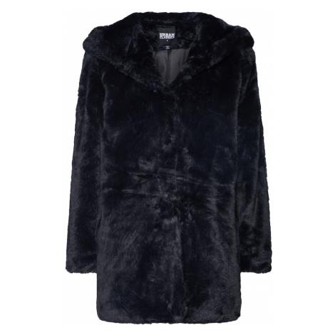 Urban Classics Curvy Prechodný kabát  čierna