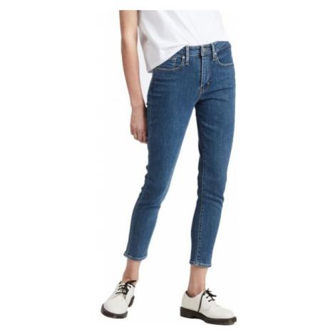 Levi's 721™ HI RISE SKINNYANKLE tmavo modrá - Dámske nohavice Levi´s
